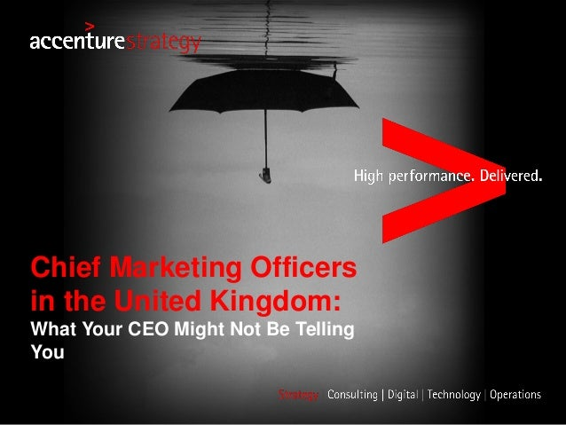 Chief Marketing Officers in the United Kingdom: What Your CEO Might Not Be Telling You
