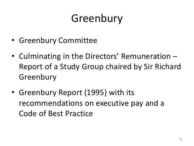 cadbury report 92 recommendations Corporate and commercial/king report on governance for south africa - 2009/acknowledgments acknowledgments the institute of directors in southern africa and the king committee on governance.