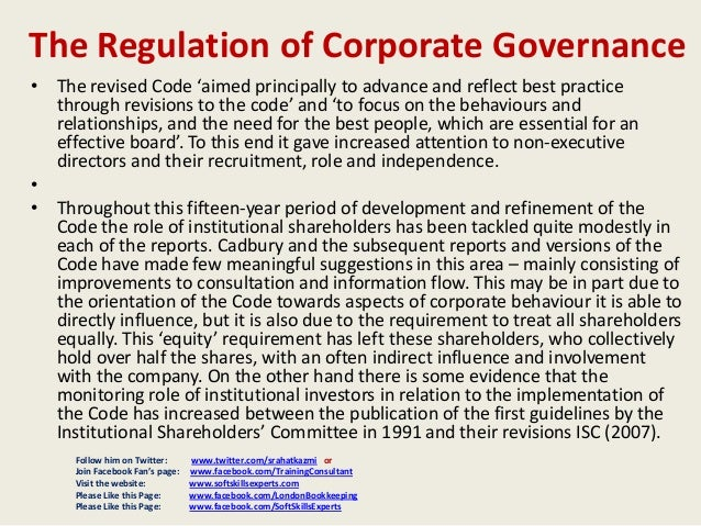 corporate governance in uk We are seeking views on how to improve the uk's corporate governance framework.