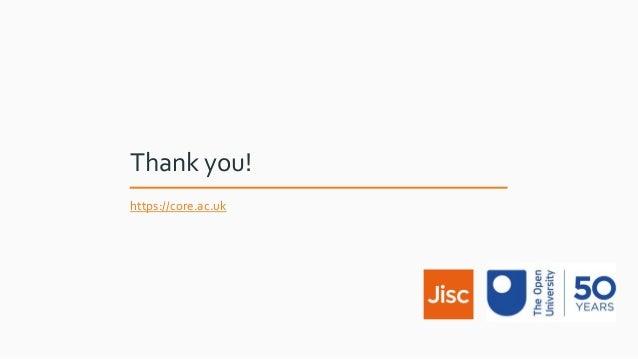 Thank you! https://core.ac.uk