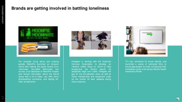 CONSUMERMINDSET Brands are getting involved in battling loneliness _6 For anybody living alone and missing people, MoonPie...