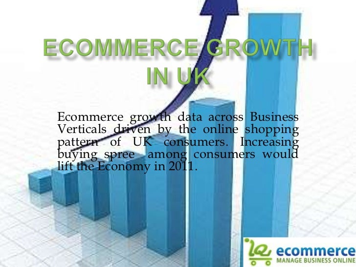 Ecommerce Growth in UK<br />Ecommerce growth data across Business Verticals driven by the online shopping pattern of UK co...