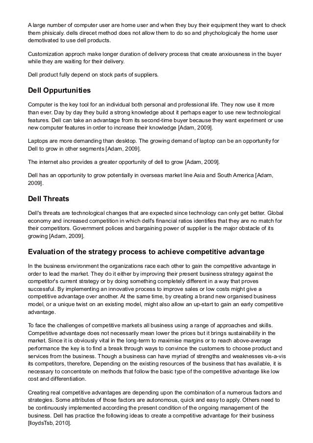 strategy competitive advantage essay Growth strategy for kerri new brewer technology keurigs competitive advantage related essays apple's competitive advantage clearly lies.