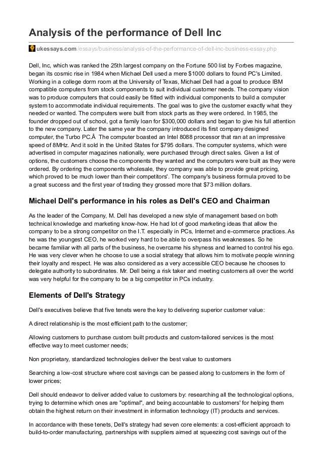 Dell scholarship essays