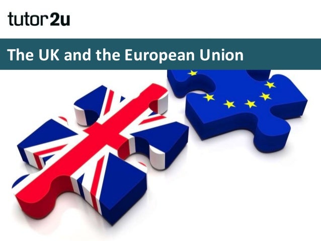 The UK and the European Union