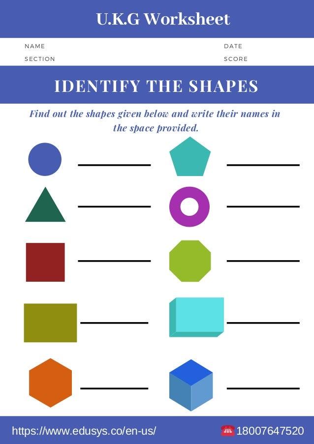 Kindergarten Math Worksheet Free Pdf Printable