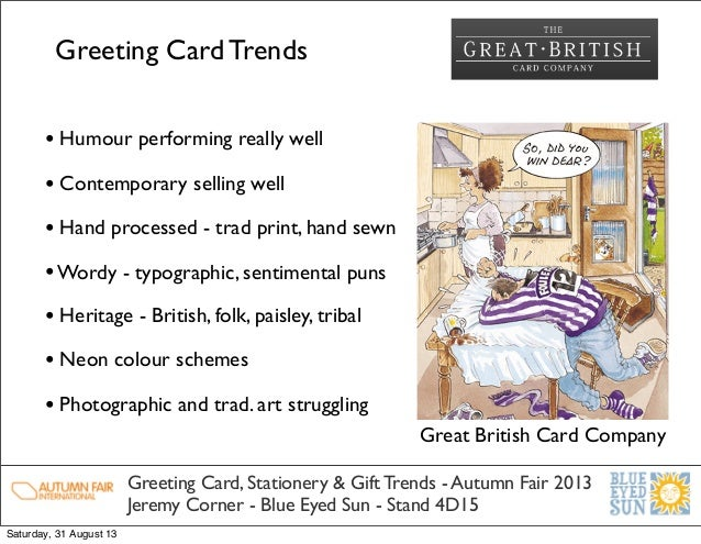 greeting card industry research info and The greeting card industry is enormous and boasts billions of dollars in sales annually greeting card companies are always on the lookout for the next best idea and pay contributors very well the pay scale ranges from $75 to $300 for a few heartwarming, romantic or funny lines.