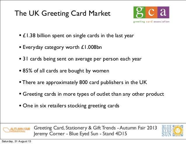 Uk greeting card stationery and gift market trends 31 august 13 4 the uk greeting card m4hsunfo
