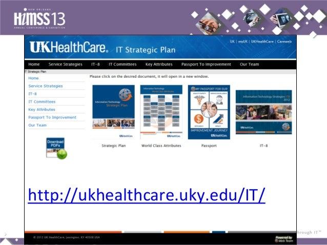 UK HealthCare IT Transformation HIMSS 2013