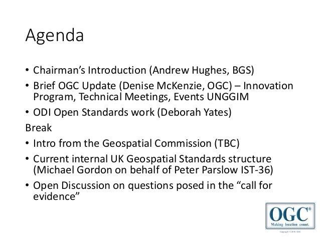 2018 September OGC UK & Ireland Forum Slide 2