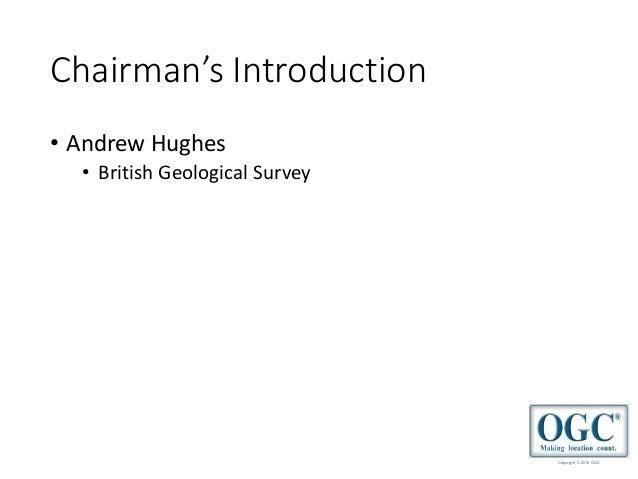 2018 September OGC UK & Ireland Forum Slide 3