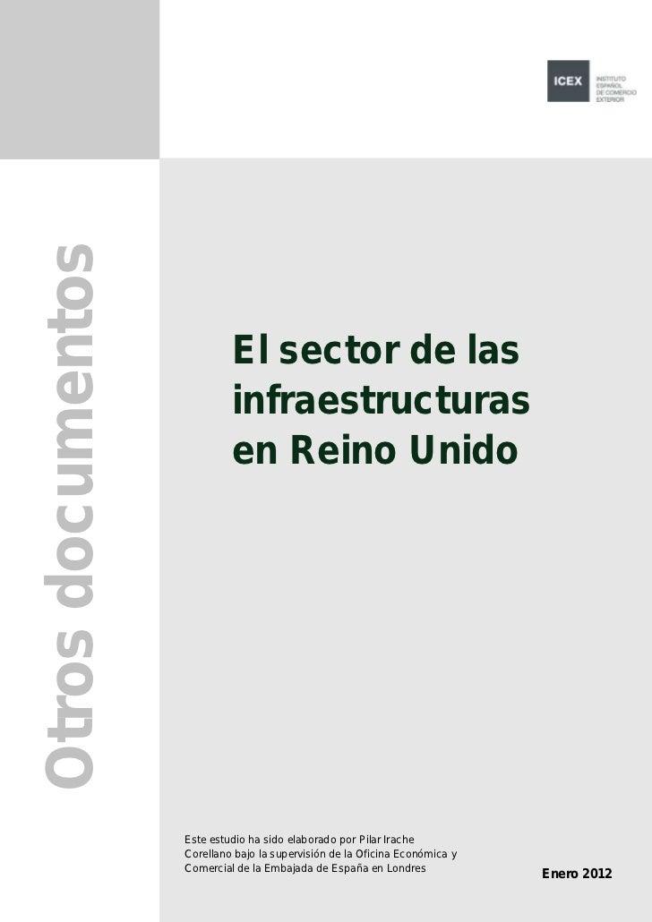 el sector de las infraestructuras en reino unido 2012
