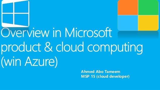 Ahmed Abo TameemMSP 15 (cloud developer)