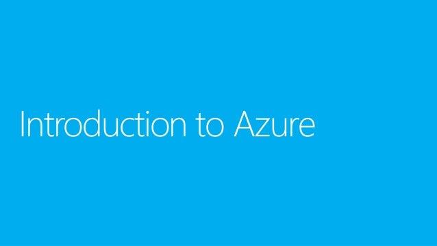 Overview of Microsoft product & Microsoft cloud platform (win Azure)
