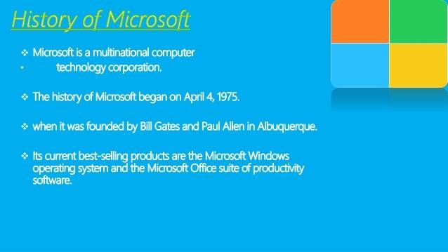 Microsoft Corporation SWOT Analysis