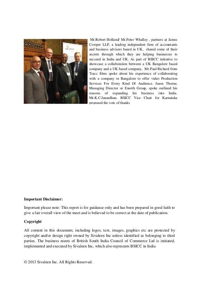 UK Karnataka Business Meet 2013 Slide 3