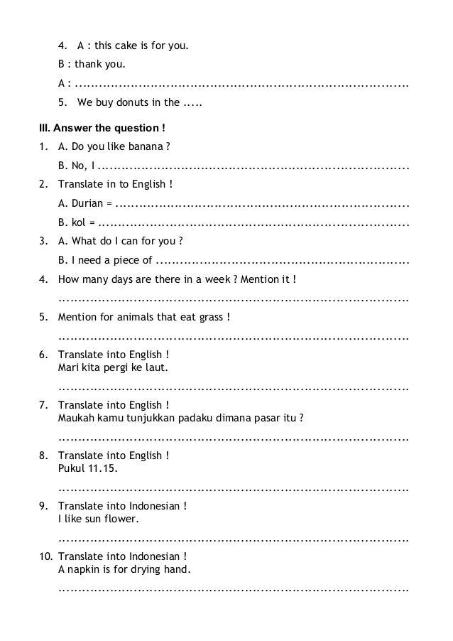 mari kita ke pasar answers pdf