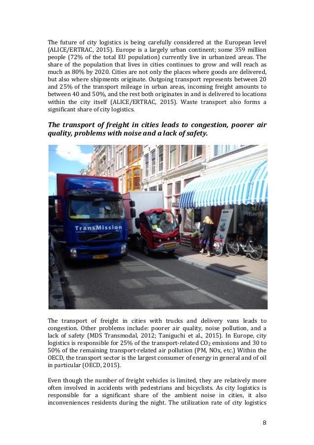 f394039e16d812 European perspective  8. 8 The future of city logistics ...