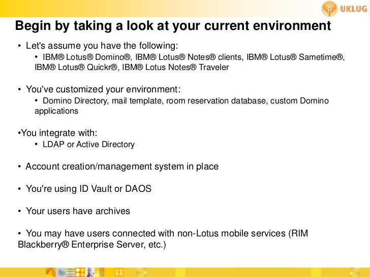 lotus notes database templates - cloud session uklug