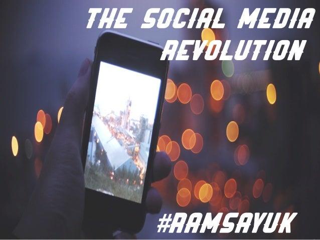 The social media Revolution #Ramsayuk