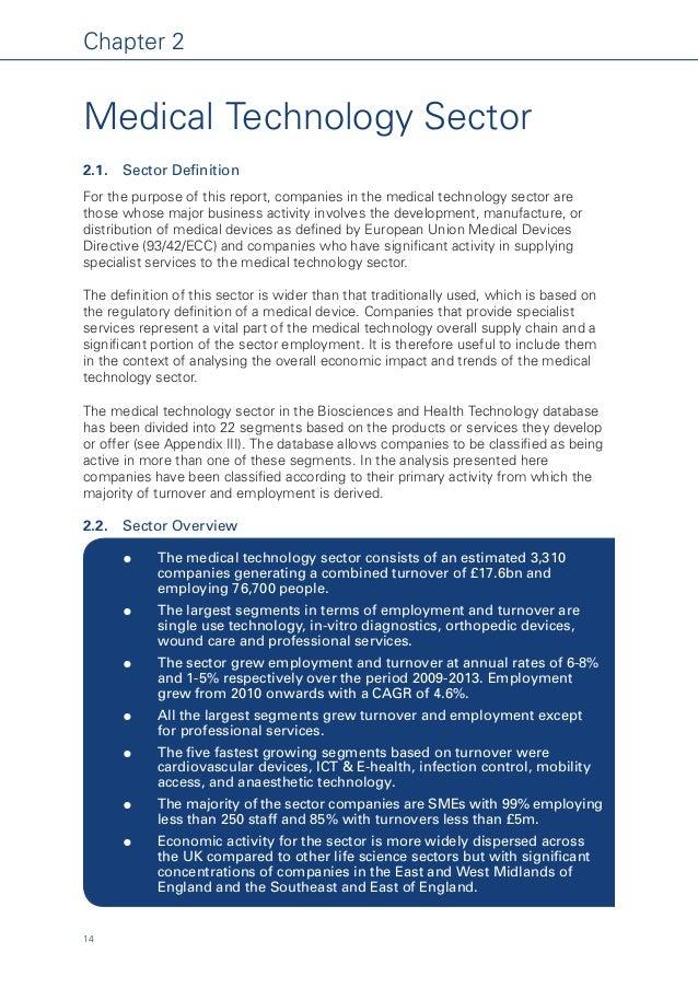 UK medical, pharma and biotech landscape 2013