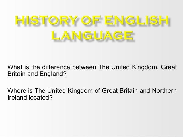 What is the difference between The United Kingdom, Great Britain and England? Where is The United Kingdom of Great Britain...
