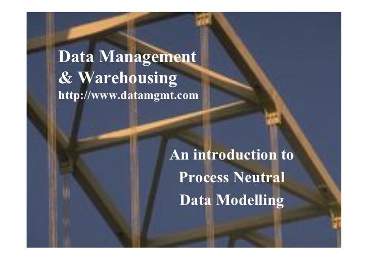 Data Management      & Warehousing      http://www.datamgmt.com                                                       An i...