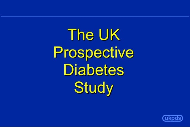 The UK Prospective Diabetes Study ukpds