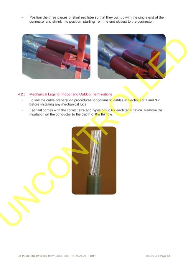 Hv cable Installation Manual