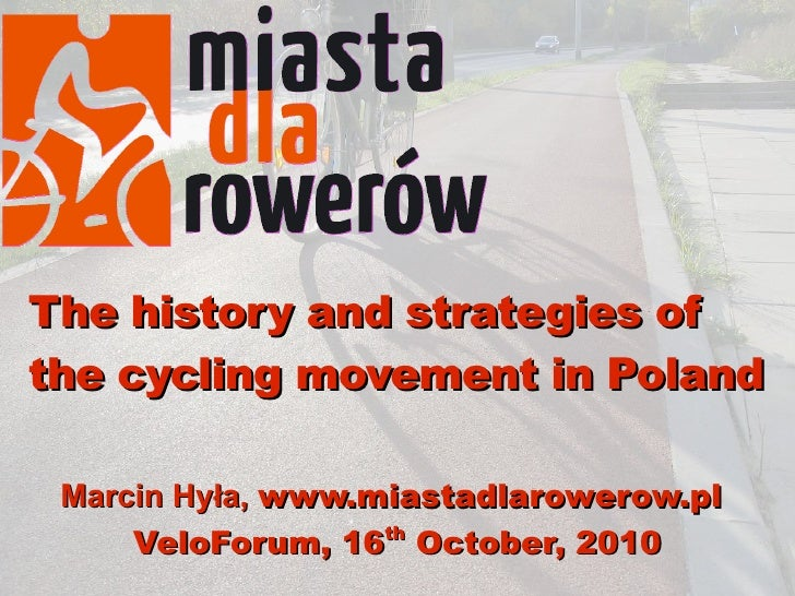 Bicycle movement in Poland