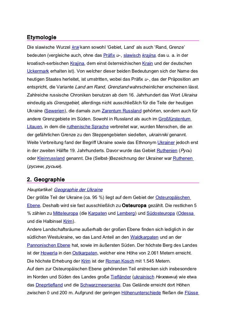 EtymologieDie slawische Wurzel krai kann sowohl 'Gebiet, Land' als auch 'Rand, Grenze'bedeuten (vergleiche auch, ohne das ...