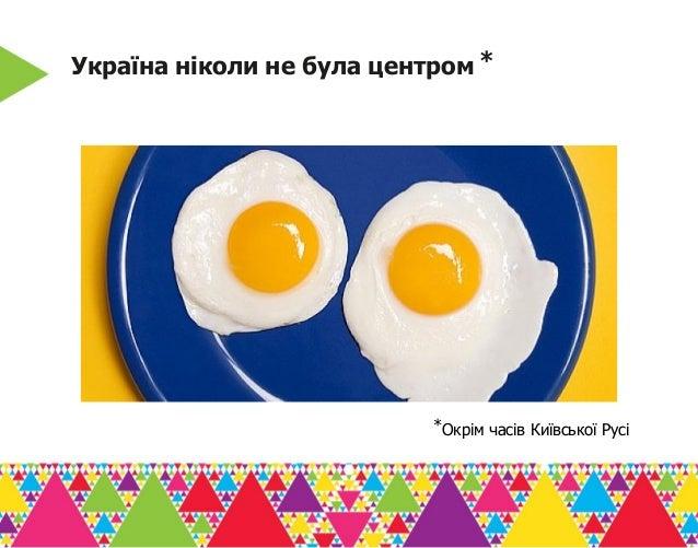Україна ніколи не була центром ⃰ ⃰Окрім часів Київської Русі