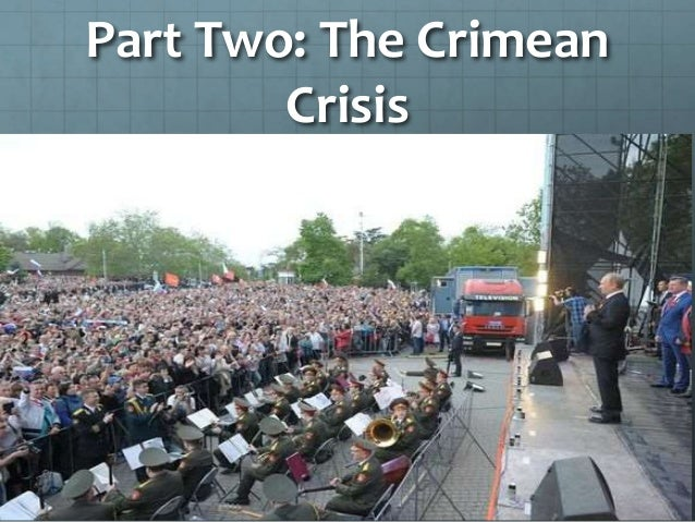 """Crimean Revolution Giant protests began in Crimea against the new Ukrainian government, sometimes thought of as """"East Ukra..."""