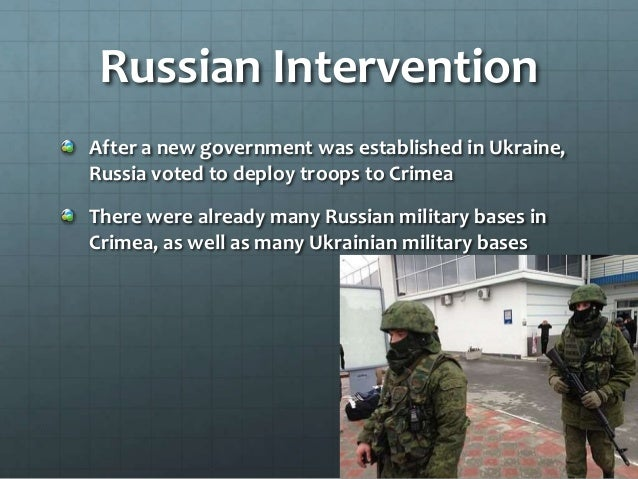 Referendum Nearly everyone in Crimea is of Russian heritage, with a Crimean Tartar minority Russian troops allowed a refer...