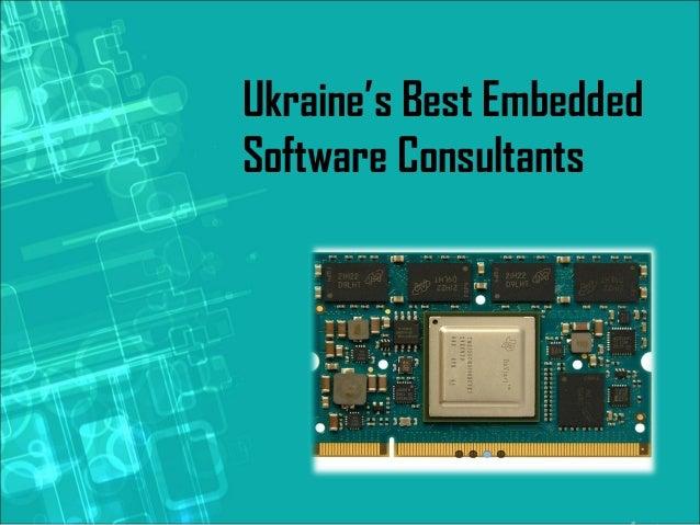Ukraine's Best Embedded Software Consultants