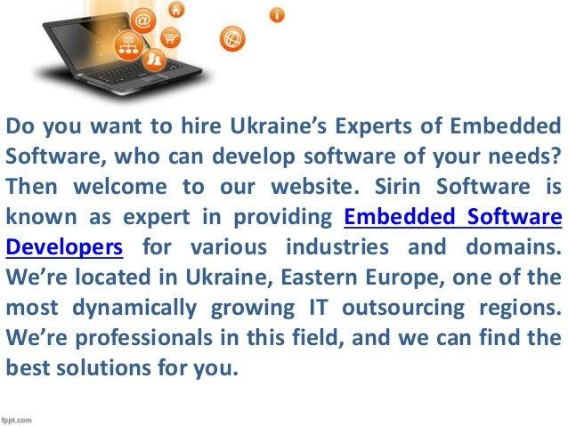 Ukraine's Experts of Embedded Software  Slide 2