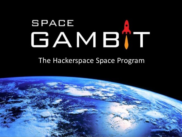The Hackerspace Space Program