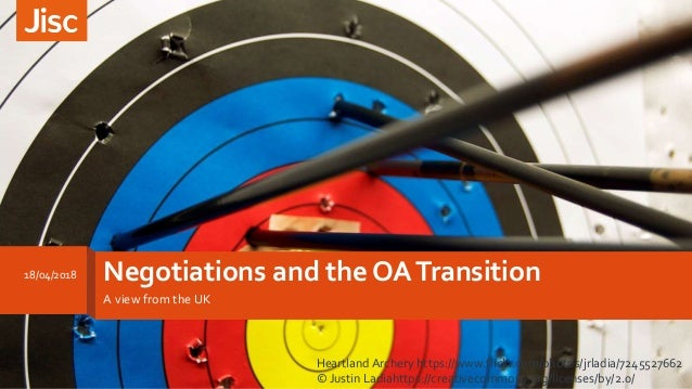 Negotiations and the OATransition A view from the UK 18/04/2018 Heartland Archery https://www.flickr.com/photos/jrladia/72...