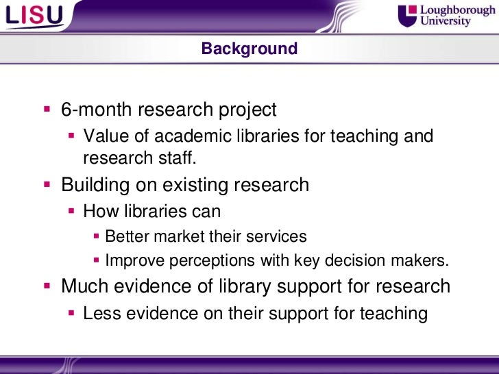 Working Together evolving library value: initial findings Slide 2