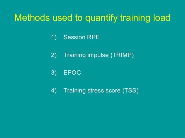UK Sport talk on quantifying training load