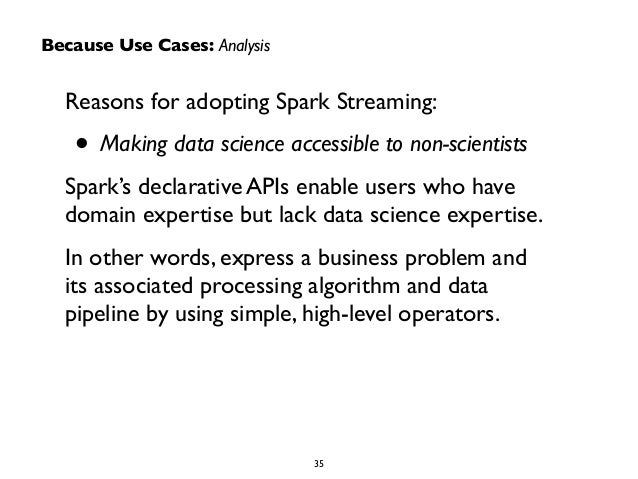 Tiny Batches, In The Wine: Shiny New Bits In Spark Streaming
