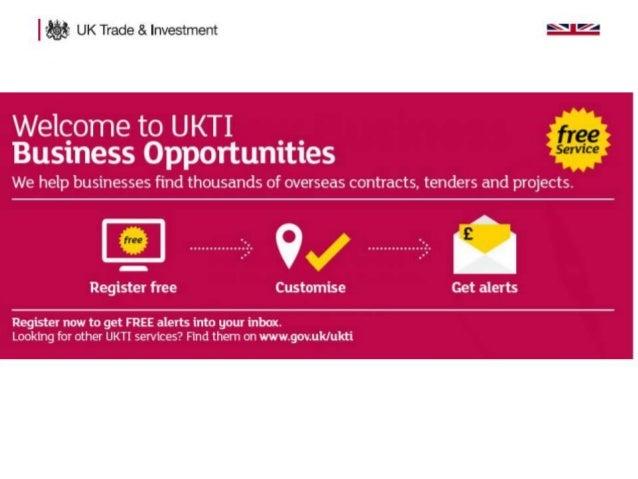 GrantTree - UKTI - Government support for export Slide 2