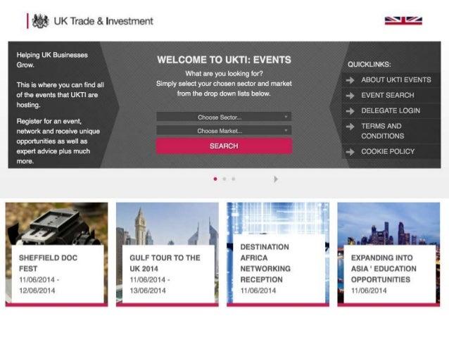 GrantTree - UKTI - Government support for export Slide 3