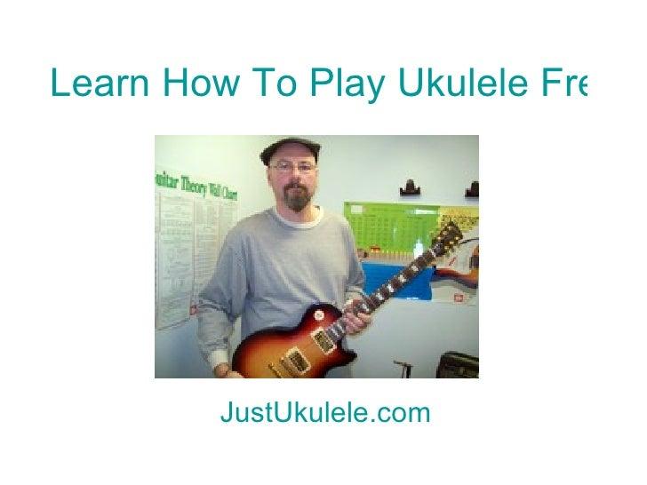 Ukulele chords for bubbly