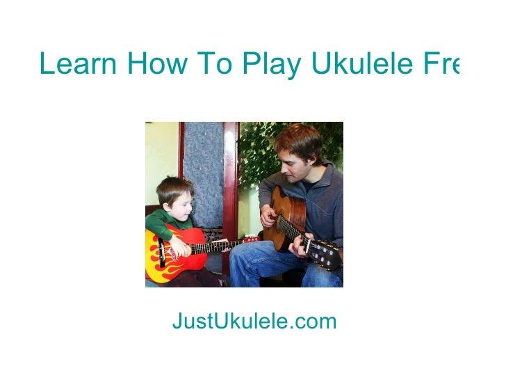 Ukulele Song Chords For Beginners