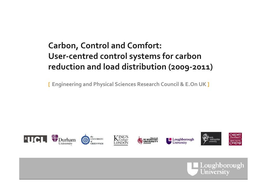 UKUPA WUD09  Debra Lilley: Reducing Household Energy Use Slide 2