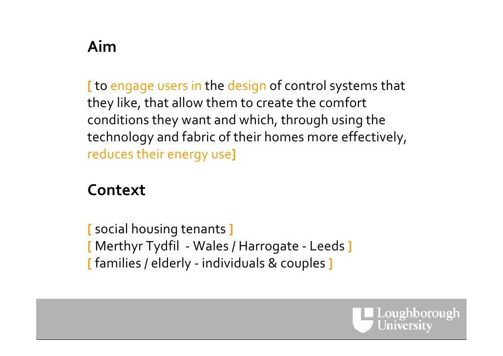 UKUPA WUD09  Debra Lilley: Reducing Household Energy Use Slide 3