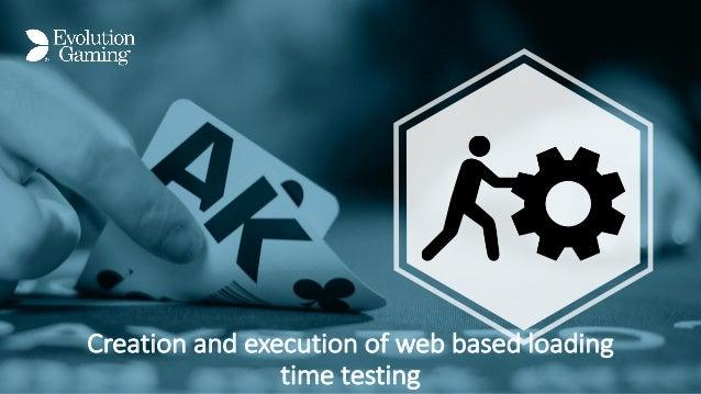 Creationandexecutionofwebbasedloading timetesting