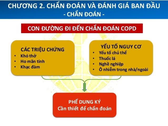 CHƯƠNG 2. CHẨN ĐOÁN VÀ ĐÁNH GIÁ BAN ĐẦU - TRIỆU CHỨNG - Dấu chỉ điểm chính cho chẩn đoán COPD Nếu những dấu hiệu này có ở ...