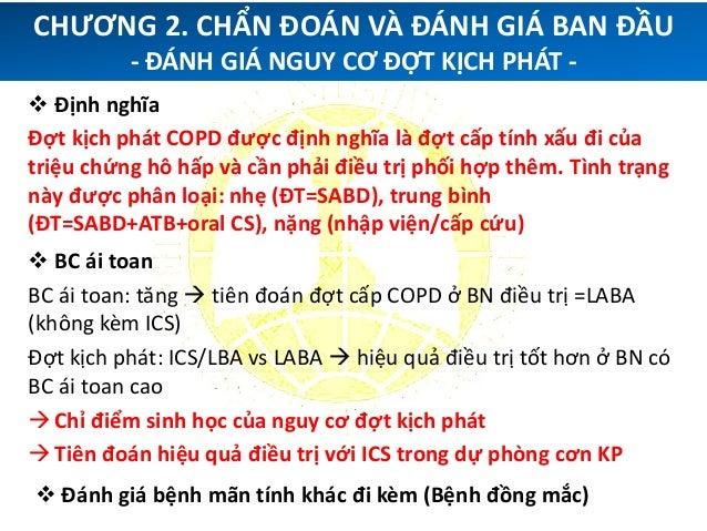 """ """"ABCD"""" của GOLD 2011 cập nhật Bước phát triển từ PD ký  PD ký + triệu chứng + đợt kịch phát  Có một số hạn chế quan tr..."""